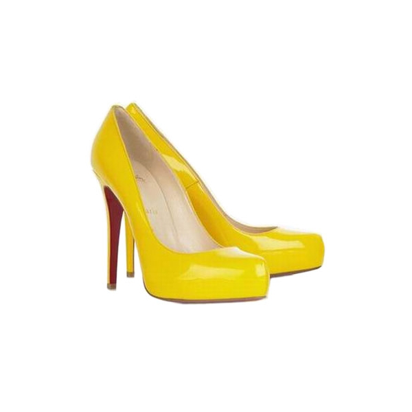 yellow louboutins